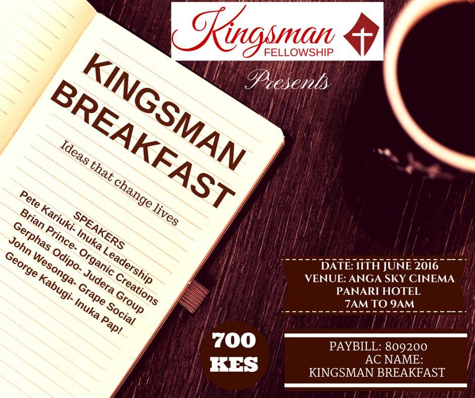 Kingsman Breakfast