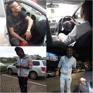 L-Jay Maasai Car Stolen