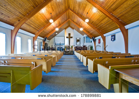 stock-photo-the-interior-of-a-simple-church-with-a-vaulted-wooden-ceiling-and-beams-178899881