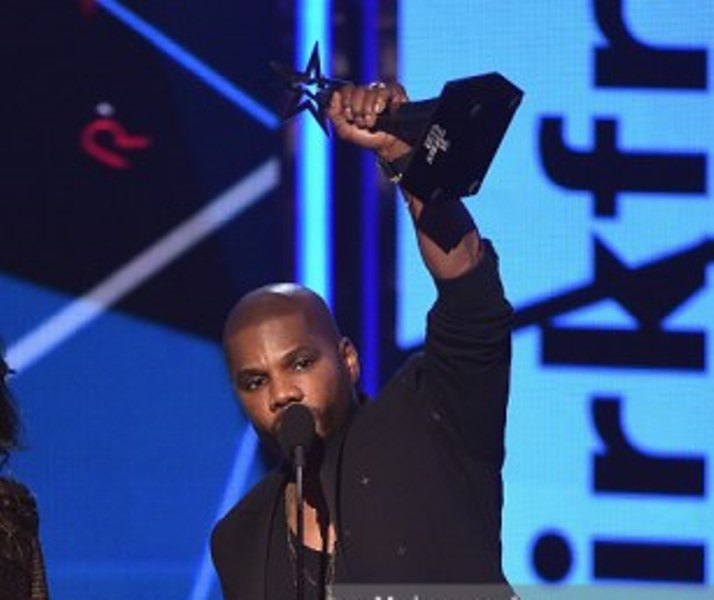 onstage during the 2016 BET Awards at the Microsoft Theater on June 26, 2016 in Los Angeles, California.