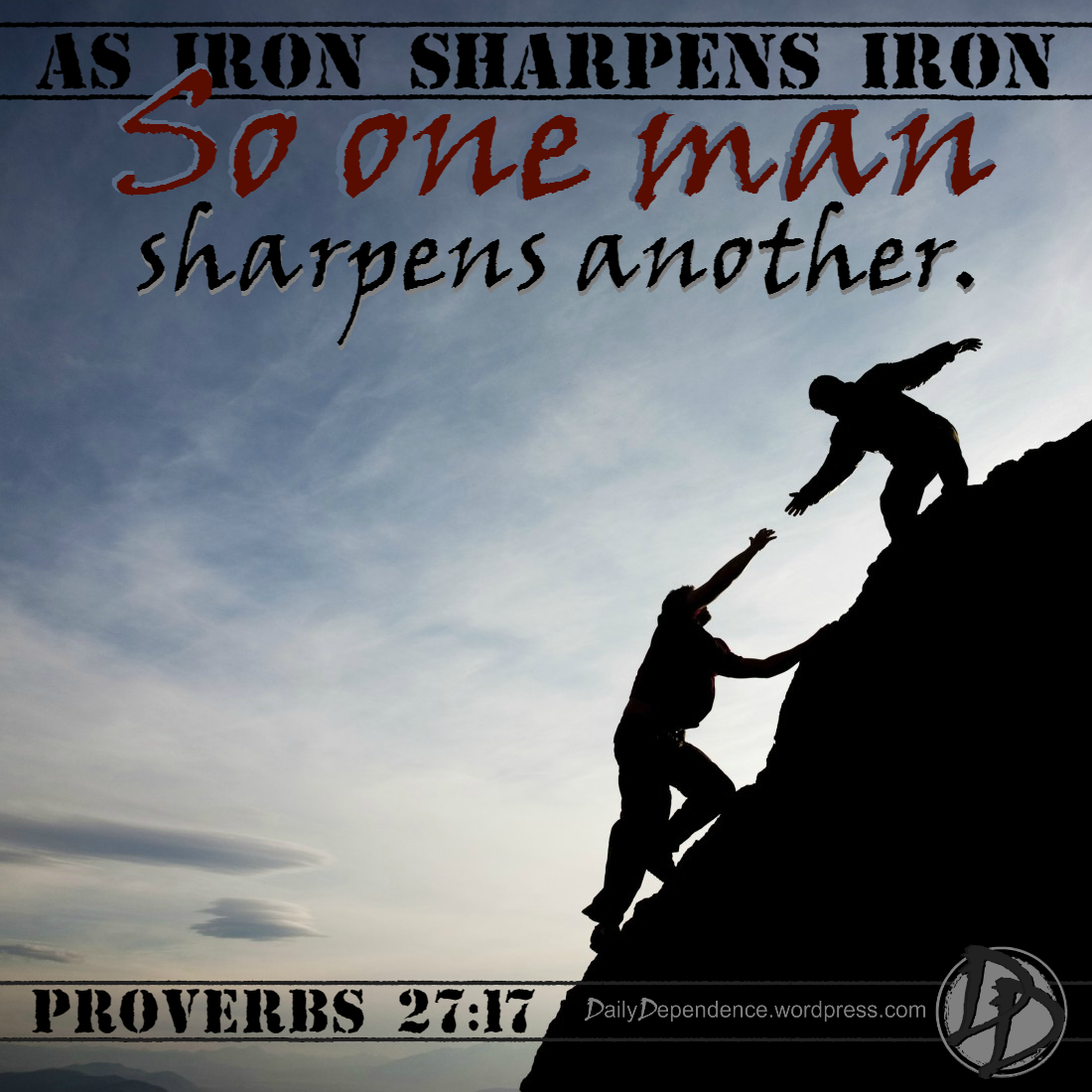 101-daily-dependence-proverbs-27-17-iron-sharpens-iron