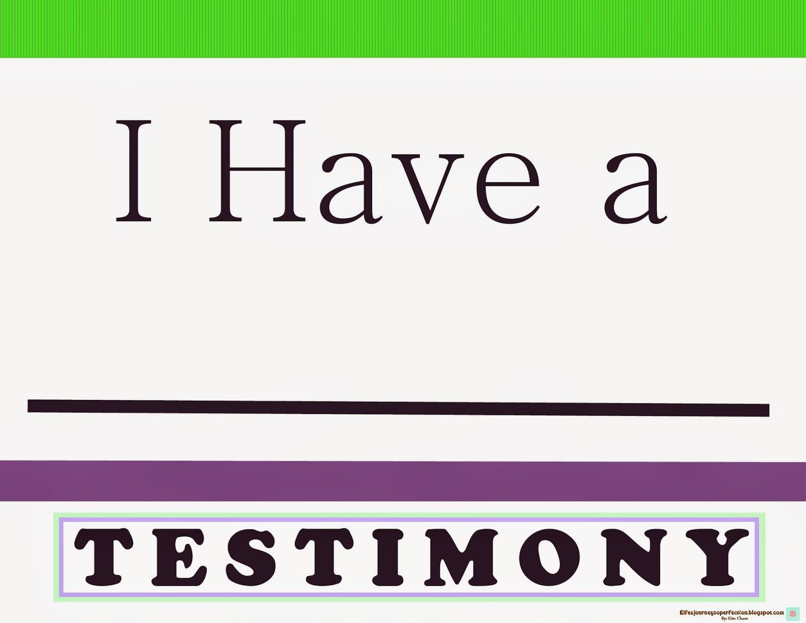 i-have-a-testimony