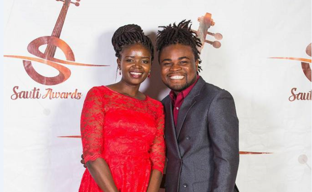 Eunice Njeri with fiance - Hallelujah Kenya