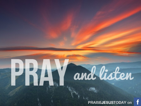 pray-listen