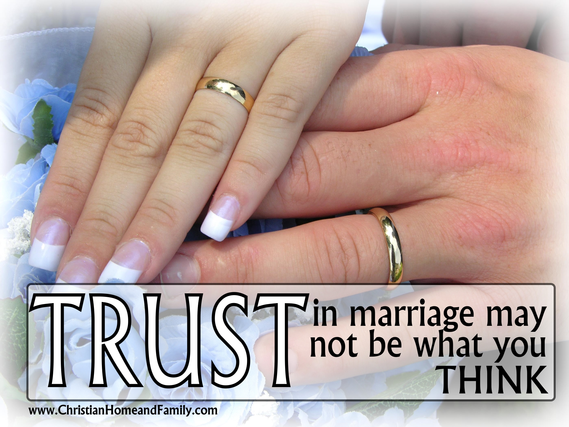 Trusting god for a spouse