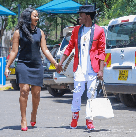Video Of Bahati Singing A Secular Song With Diana Is One