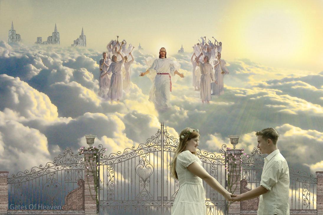 Le Ciel : Ultime récompense du chrétien ! Imaginez sa beauté ! - Page 3 Gates_of_heaven_by_joeff1-d8ajftl